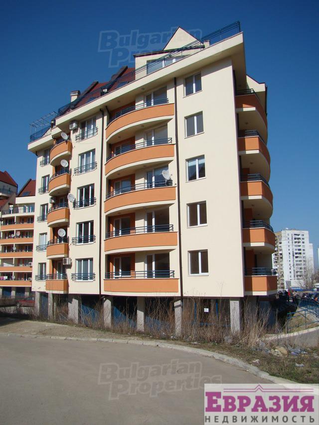 Двухкомнатная квартира в Софии, район Манастирски Ливади - Болгария - Регион София - София, основное фото