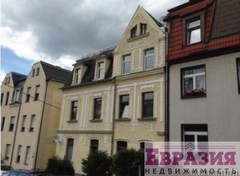 Четырехэтажный отреставрированный дом в районном центре Грайц - Германия - Тюрингия - Грайц, основное фото