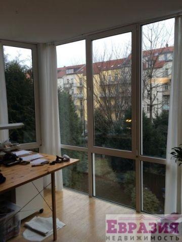 Отличная двухкомнатная квартира в лейпциге (германия, саксон.