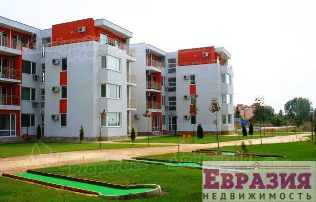 Солнечный Берег, трехкомнатная квартира - Болгария - Бургасская область - Солнечный берег, основное фото