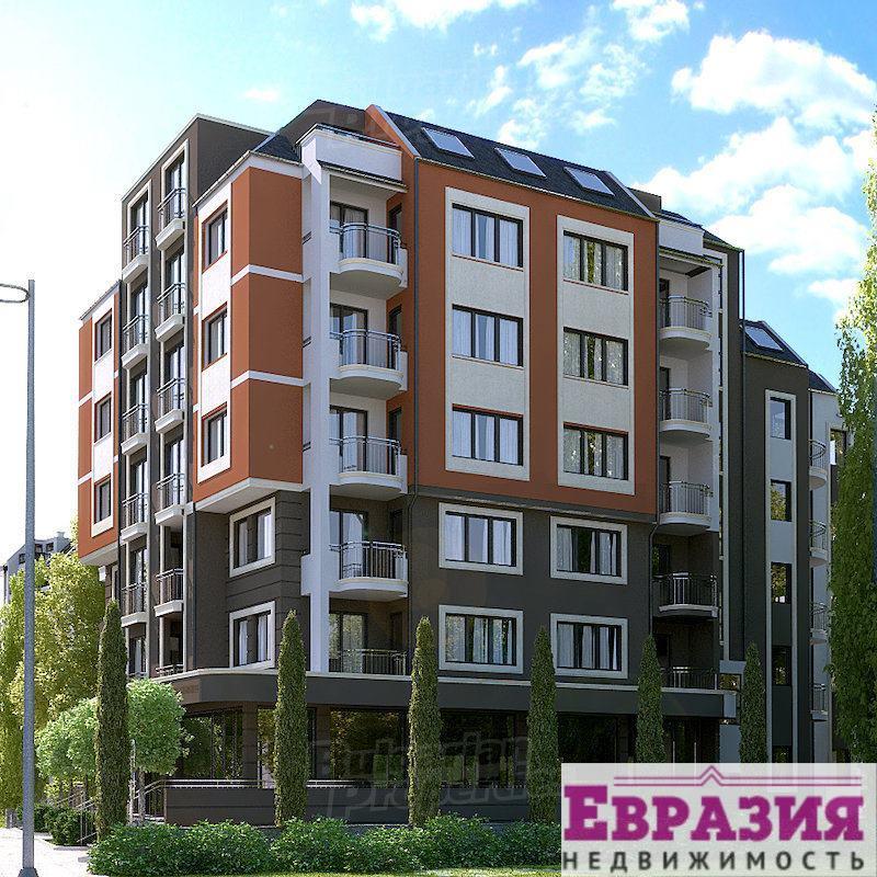 Трехкомнатная квартира в Софии - Болгария - Регион София - София, основное фото