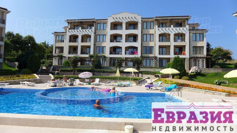 Созополь, просторная квартира в комплексе - Болгария - Бургасская область - Созопол, основное фото